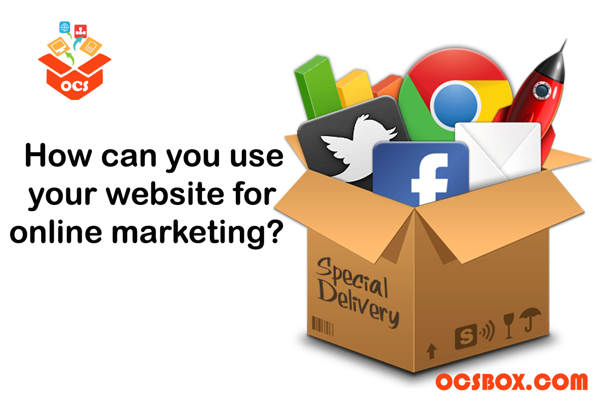 How can you use your Website for Online Marketing?